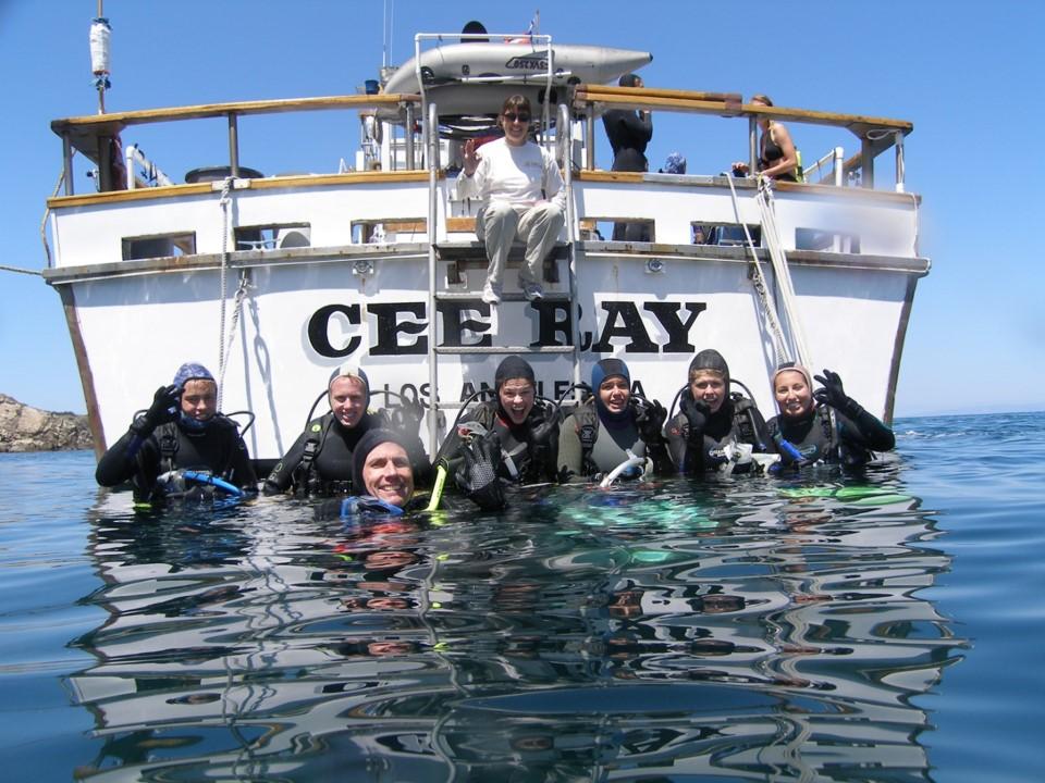 CeeRay Dive Boat